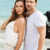 Алексей Чадов со своей женой Агнией