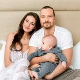 Фото семьи Чадовых с сыном Федором