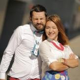 Андрей Бедняков и его жена Настя Короткая фото