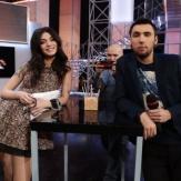 Максим Голополосов и его девушка в эфире фото