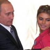 Владимир Путин с Алиной Кабаевой