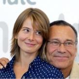 Юлия Высоцкая с мужем фото