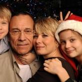 Юлия Высоцкая с мужем и детьми фото