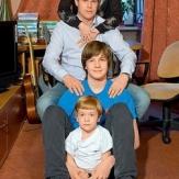 Фото семьи Татьяны Булановой