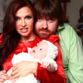 Эвелина Бледанс и ее муж