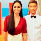 Ляйсян Утяшева и ее муж Павел Воля фото