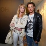 Оксана Рожок с мужем Дмитрием Исаевым