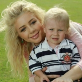 Тина Кароль со своим сыном