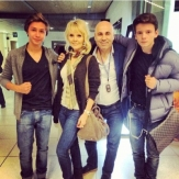 Валерия с семьей фото
