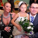 Волочкова с мужем и дочкой Ариадной