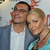 Анастасия Волочкова с бывшим супругом