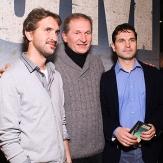 Федор Добронравов с сыновьями фото