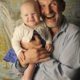 Федор Добронравов с внучкой фото