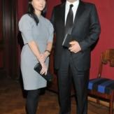 Сергей Пластинин с женой