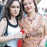 Лариса Удовиченко с дочерью фото