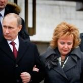 Владимир Путин и его жена фото
