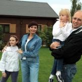 Яценюк с женой и детьми фото