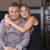 Леонид Агутин с дочерью от первого брака фото