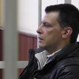 Алексей Кабанов в зале суда фото