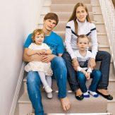 Семья Аршавина в полном составе