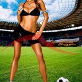 Календарь жены футболистов - жена Аршавина
