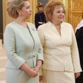 Светлана Медведева и Людмила Путина
