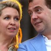 Светлана Медведева с мужем