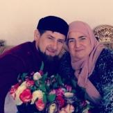 Фото Кадырова и его жены Медни