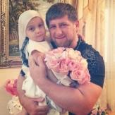 Рамзан Кадыров со своей дочерью фото