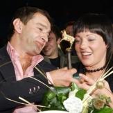 Анастасия Смирнова и Константин Хабенский