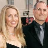 Лорен Пауэлл и Джобс фото