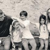 Стив Джобс, жена и дети фото