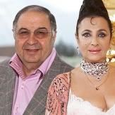 Усманов с женой фото