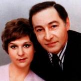 Вячеслав Тихонов и его вторая жена Тамара