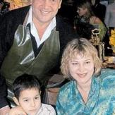 Ренат Ибрагимов со второй женой Альбиной