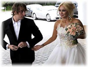 Лера Кудрявцева с мужем