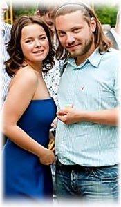 Наталья Медведева с мужем