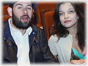 Семен Слепаков с женой