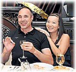 Дмитрий Соколов с женой