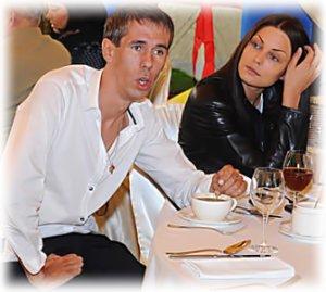 Жена Алексея Панина Люся