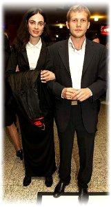 Борис Корчевников с женой