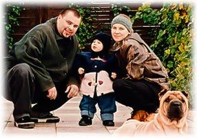 Максим Фадеев и его жена