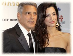 Джордж Клуни и его жена
