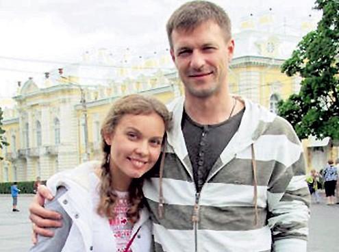 Жена Константина Стрельникова Полина Сыркина