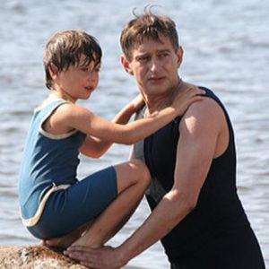 Константин Хабенский с сыном Ваней