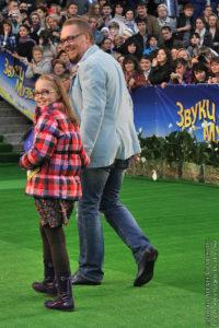 Сергей Стиллавин с дочерью