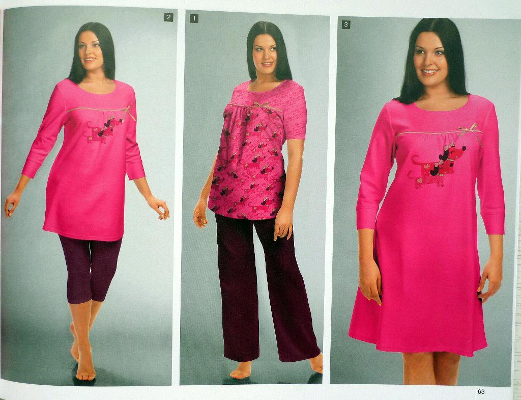 Из каких тканей производят домашнюю трикотажную одежду?