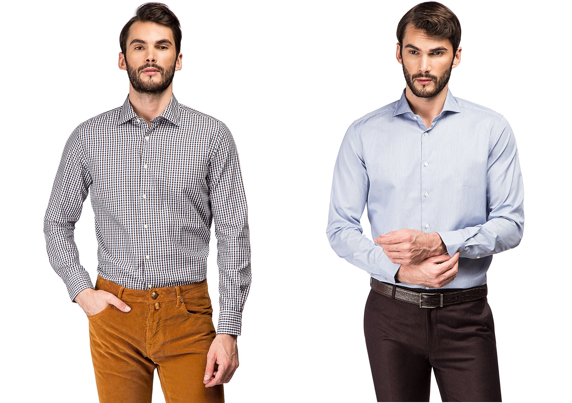 Модным мужским рубашкам 60 лет, ведь столько бренду Xacus