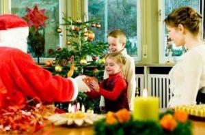 Почему ребёнок может испугаться деда мороза