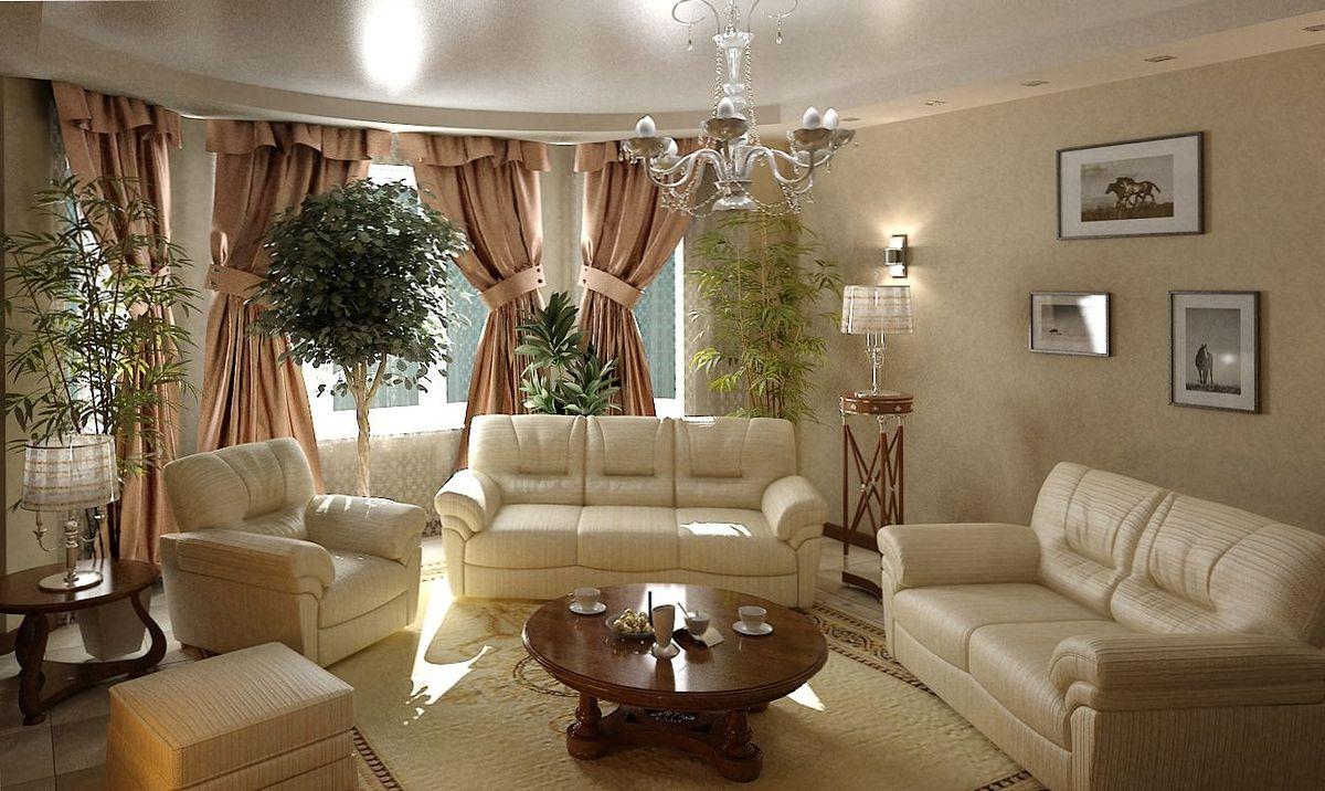Как создать уют в гостиной